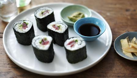 Sushi basis recept
